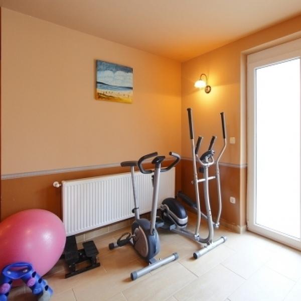 Centrum apartmanház - fitness